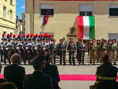 Nuoro, 204° anniversario della fondazione dell'Arma dei Carabinieri (foto Cronache Nuoresi)