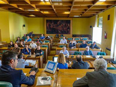 Nuoro, Consiglio comunale su Bilancio di previsione (foto S.Novellu)