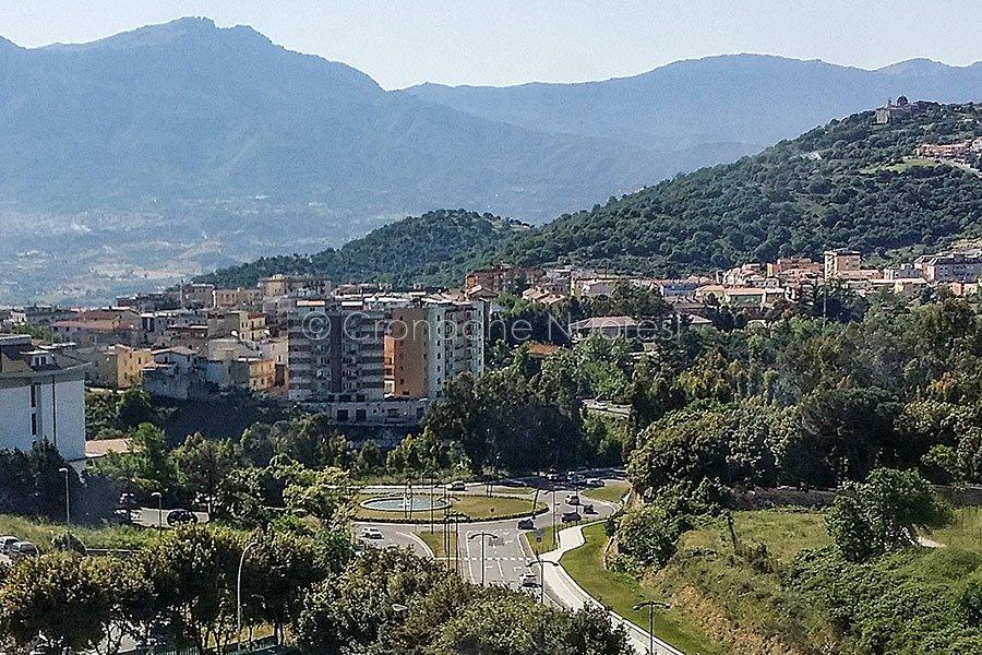 Una panoramica di Nuoro (foto S.Novellu)