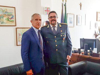 Dott. Andrea Garau e il Colonnello Urgeghe