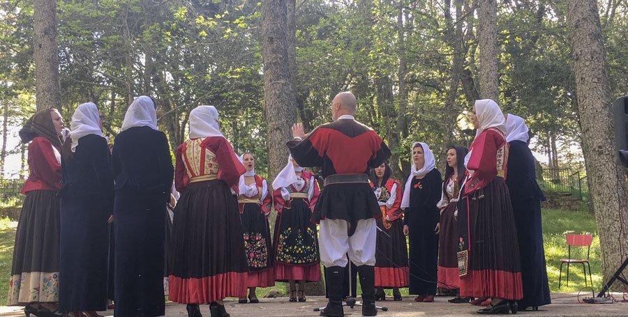Il coro femminile Bendas