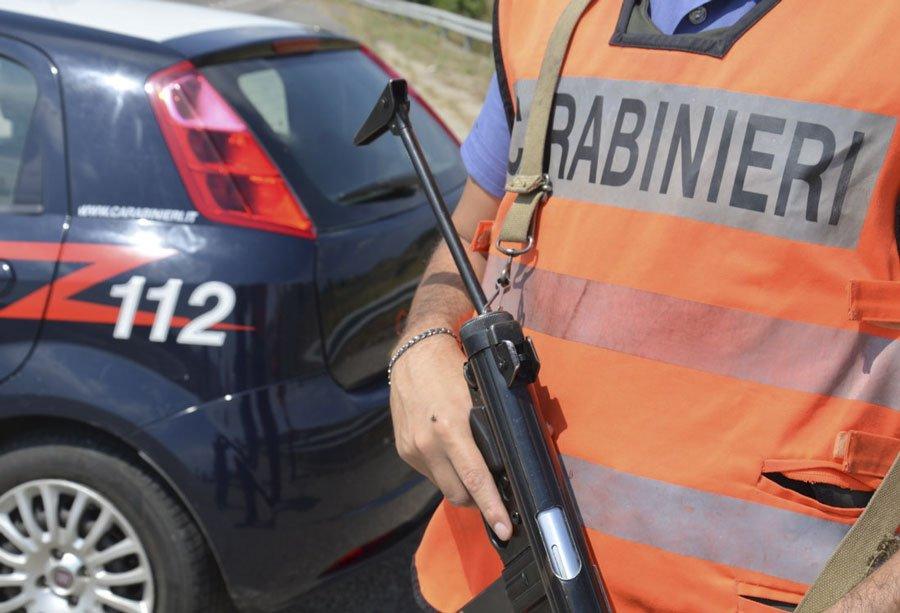Carabinieri e posti di blocco