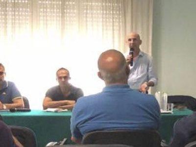 Un momento dell'incontro organizzato dai Verdi