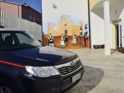 La Stazione dei Carabinieri di Orgosolo