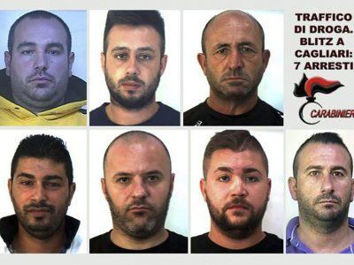 I sette arrestati