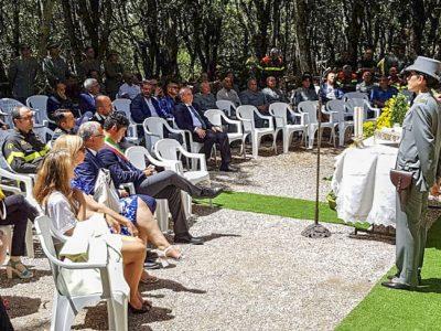 Le celebrazioni del Patrono del Corpo Forestale (f. C. Nuoresi)