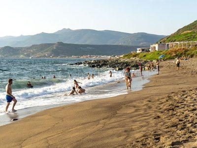 Bosa, uno scorcio della spiaggia di Turas (foto S.Novellu)