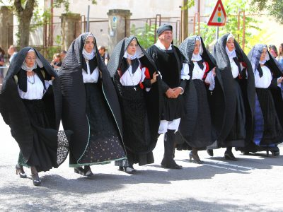 Redentore 2018, sfilata degli abiti tradizionali (foto A.Lauria - © Cronache Nuoresi)