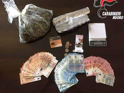 Droga e contanti sequestrati a Tortolì