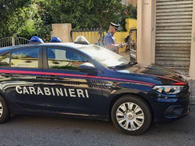 Il sopralluogo dei Carabinieri a Ollolai