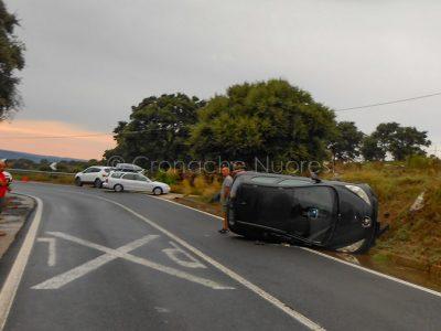 Incidente sulla 131 DCN bis (foto P.G.Vacca)