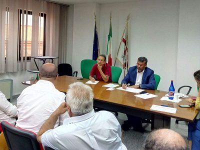 L'incontro tra Arru e i sindaci dell'Ogliastra