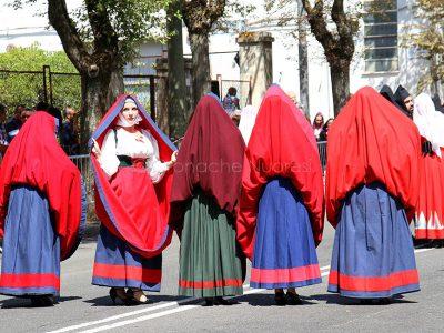 Redentore, sfilata degli abiti tradizionali (foto Angelo Sottocosta)