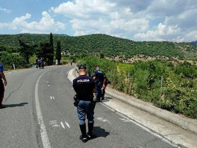 I rilievi da parte della Polizia stradale