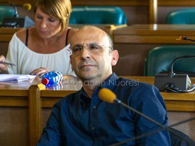 Il Consigliere di Opposizione Leonardo Moro (foto S.Novellu)