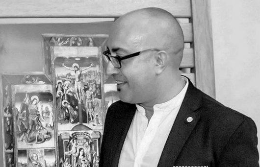 Lo storico dell'arte Marco Antonio Scanu