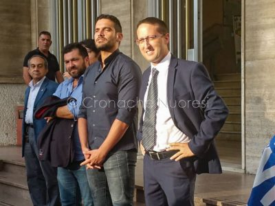 Pierluigi Saiu e i coordinatori regionali della Lega