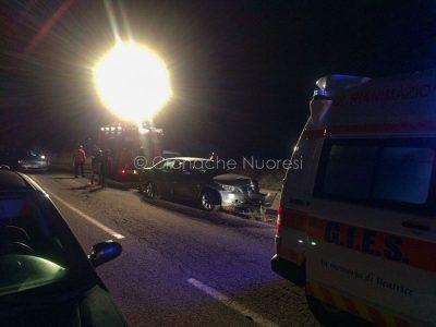 Nuoro, la scena dell'incidente in via Dessanai