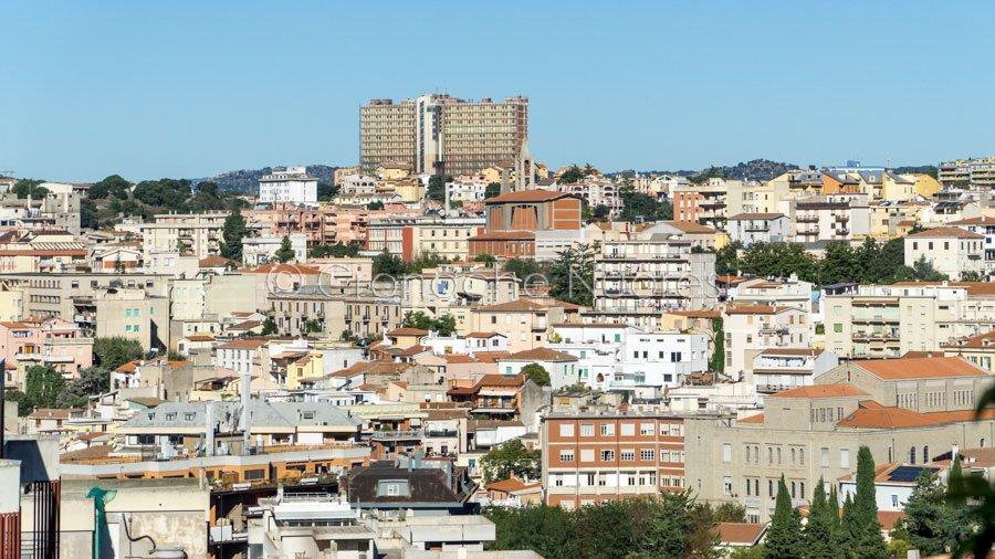 Panoramica di Nuoro da Sant'Onofrio (foto S.Novellu)
