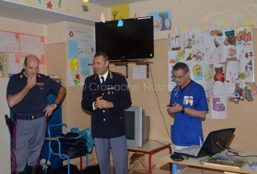 Sicurezza. La Polizia incontra cittadini e pazienti al San Francesco di Nuoro
