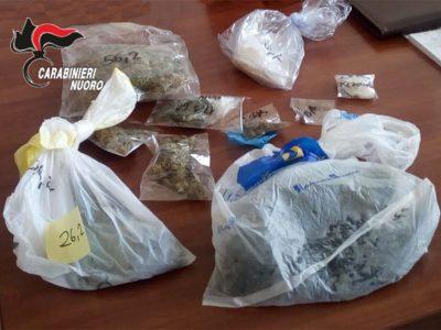 La cocaina rinvenuta dai Carabinieri