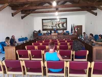 Un momento del consiglio comunale di Bosa (foto G.Vacca)