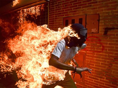 World Press Photo of the Year Winner Ronaldo Schemidt, Agence France Presse Online