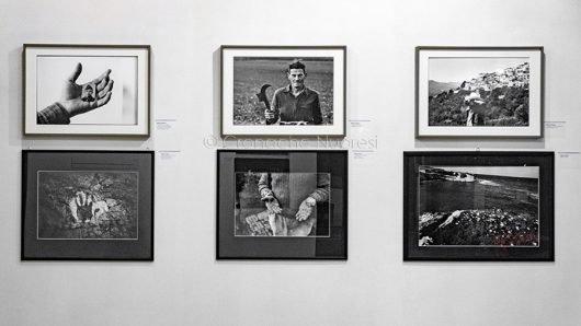 Dialogo tra alcune immagini di Mario Dondero e Uliano (foto S.Novellu)