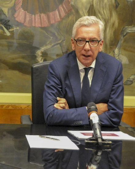 Il governatore Francesco Pigliaru