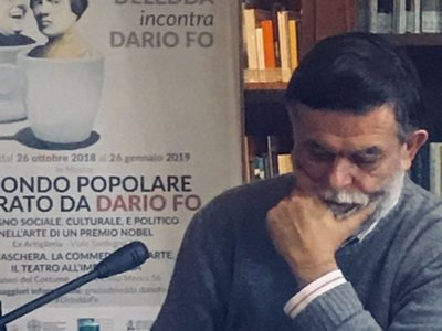 Jacopo Fo all'ISRE di Nuoro per la presentazione dell'evento