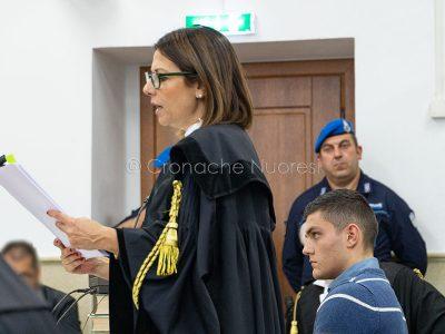 L'avvocato della Difesa Mattia Doneddu (foto S.Novellu)