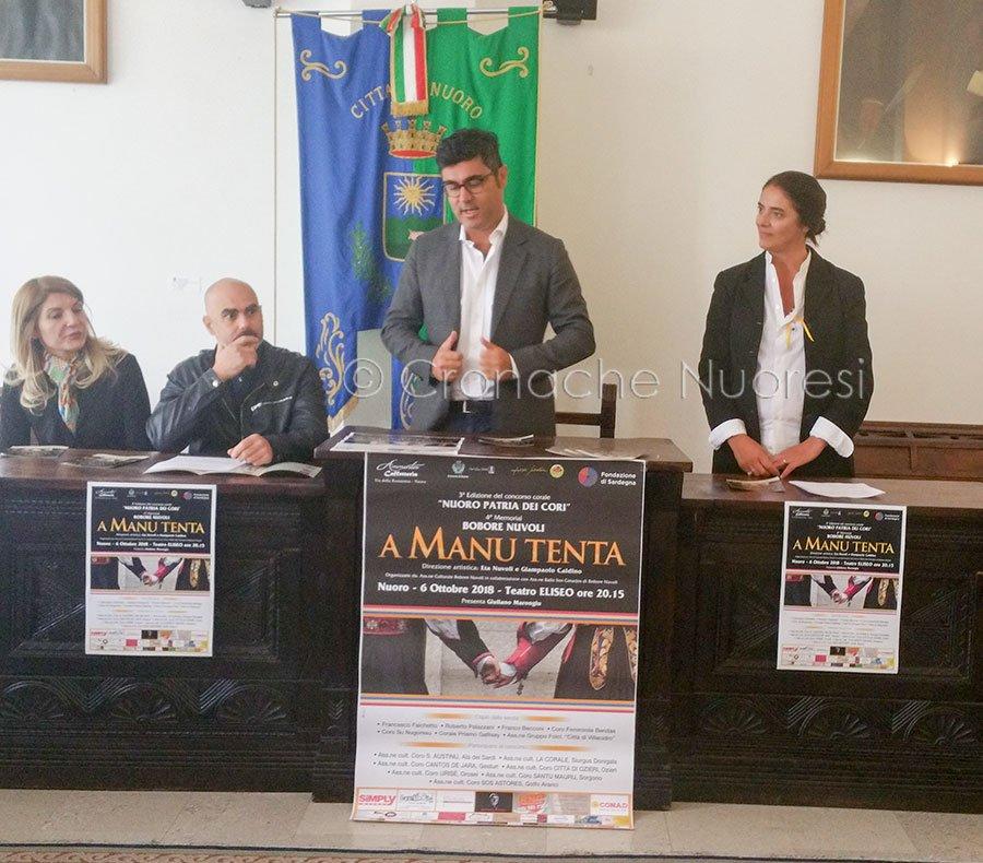 Manu Tenta: la presentazione dell'evento in Comune