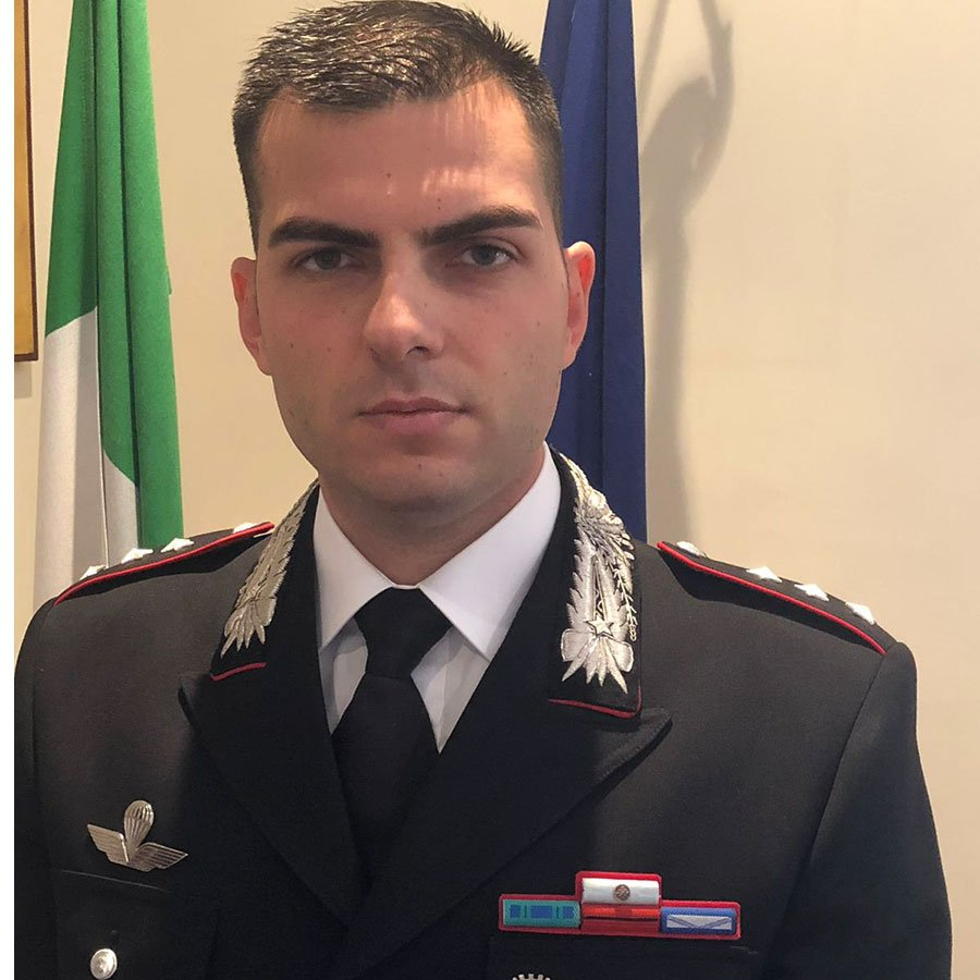 Il capitano Giuseppe Merola