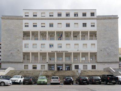 Nuoro, il Tribunale (foto S.Novellu)
