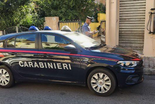 Ollolai, una pattuglia dei Carabinieri