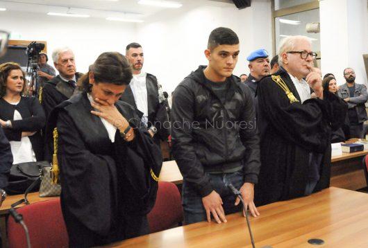 Processo Monni-Masala, Alberto Cubeddu ascolta la sentenza di condanna