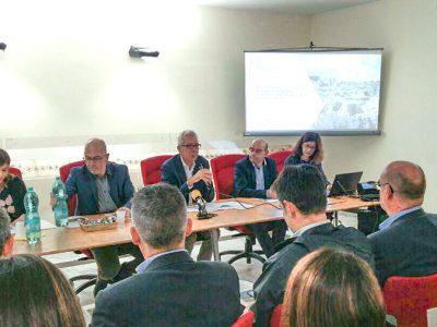 La conferenza stampa sul piano straordinario degli scavi archeologici