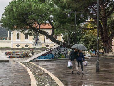 Nuoro sotto la pioggia (© foto S.Novellu)