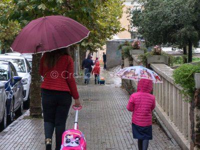 Nuoro sotto la pioggia (foto S.Novellu)