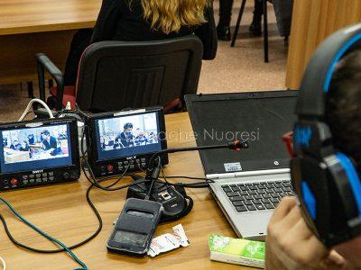 Un momento del processo per il delitto Monni-Masala (foto Cronache Nuoresi