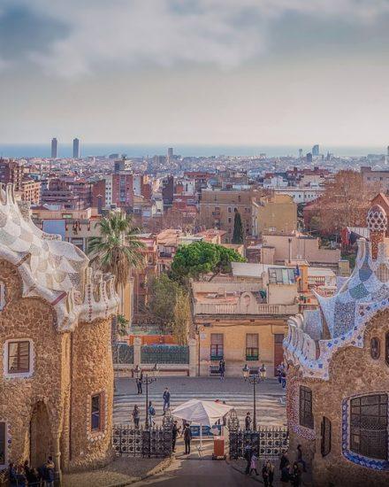 Uno scorcio di Barcellona