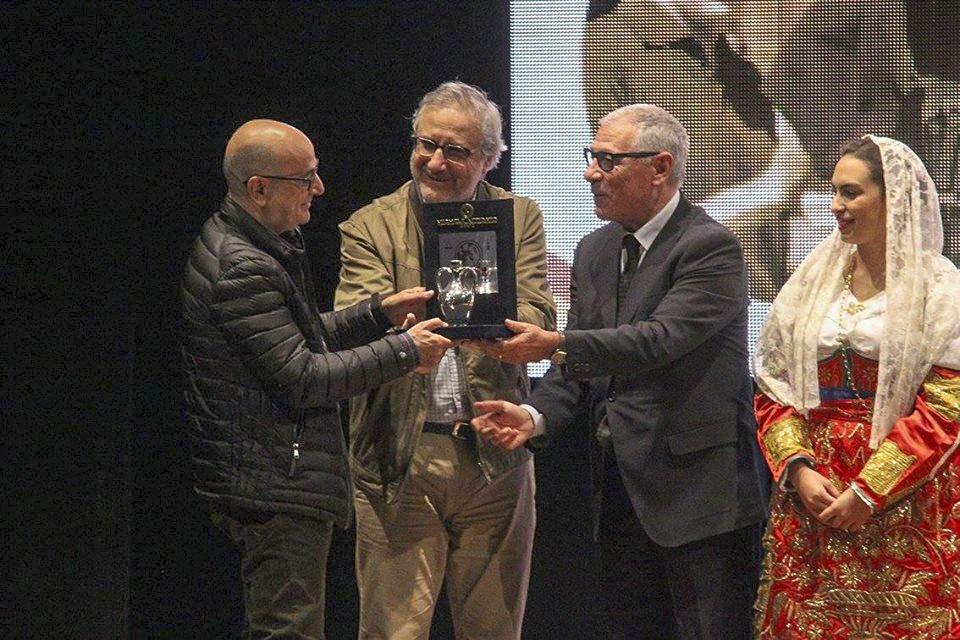 Il documentarista Ignazio Figus ritira il premio