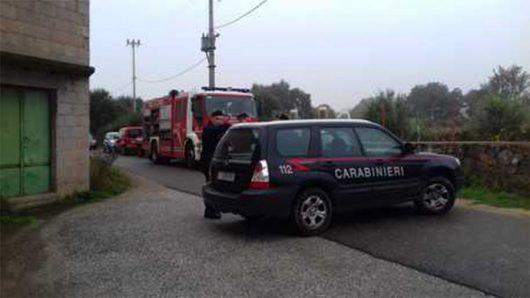 Forze dell'Ordine impegnate nelle ricerche del corpo di Manuel Careddu