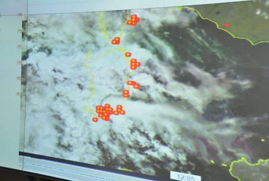 La Sardegna interessata dalle forti perturbazioni-