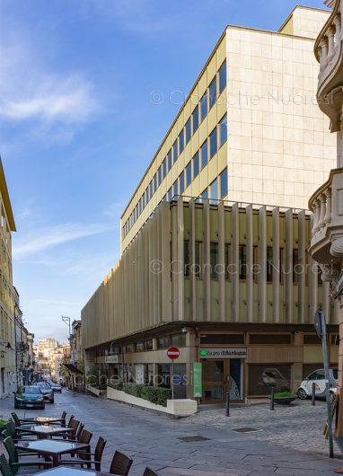 Nuoro; il palazzo del Banco di Sardegna (foto S.Novellu)