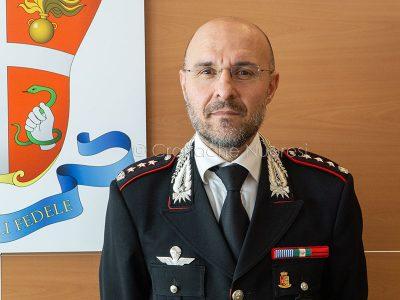 Il colonnello Franco Antonio Maria Di Pietro (foto S.Novellu)