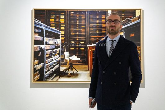 Il direttore del MAN Luigi Fassi (foto S-Novellu)