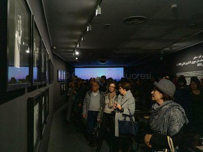 L'inaugurazione della mostra del MAN (foto S.Novellu)