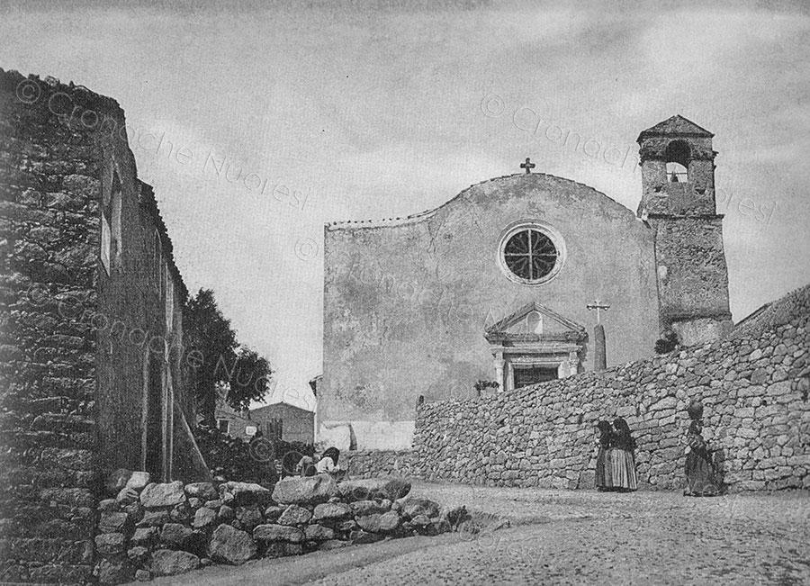 La chiesa delle Grazie negli anni Venti