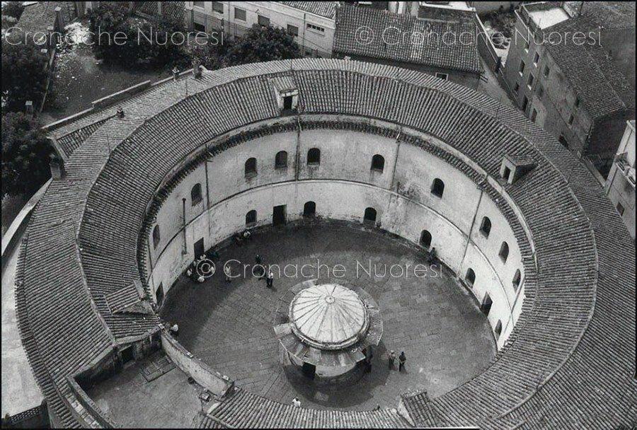 Nuoro, carcere La Rotonda dall'alto (foto Pattellani)